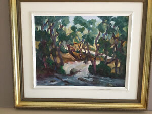 Oil painting  Charlevoix