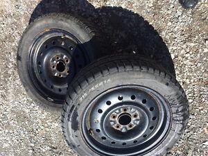 215/55/R16 Winter Tires - 5 Bolt