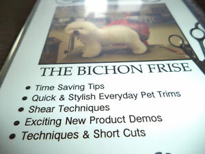 DVD of the Bichon Frise / Instructional Grooming DVD