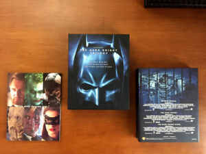 Dark Knight Trilogy Blu Ray Collector's Edition Bu Ray