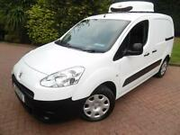 2013 Peugeot Partner L1 850 S 1.6HDi SWB FREEZER VAN WITH STANDBY