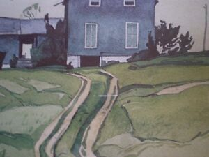 "A.J. Casson-""Farm House, Bancroft""-Limited Edition Print Kitchener / Waterloo Kitchener Area image 10"