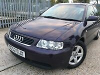 Audi a3 1.6 petrol full history!! (not corsa,polo,golf)
