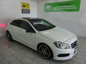 WHITE MERCEDES-BENZ A CLASS 2.1 A200 CDI AMG SPORT ***FROM £299 PER MONTH***