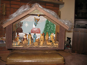 Nativity Set For Sale!