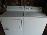 WASHER // DRYER PICK UP  WORKING OR NOT