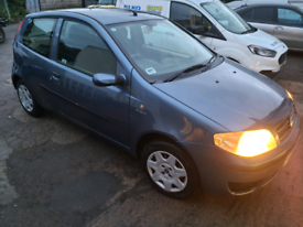 2005 Fiat Punto 1.2, 57000 miles, new mot.