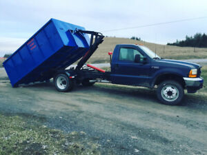 Hooklift truck bin rental - large or small