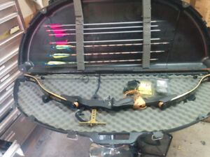 Golden eagle compound bow 120 lbs