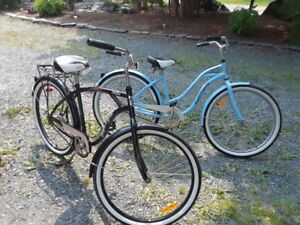 Women and Men 's Supercycle Classic Cruiser Bikes