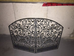 Fireplace Screen - Mint Condition