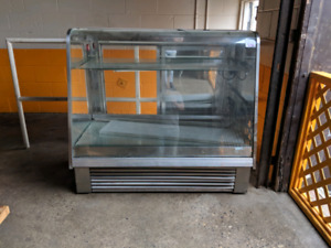 "50"" deli pastry refrigerated cooler display"
