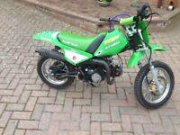 Schoolboy motocrosser