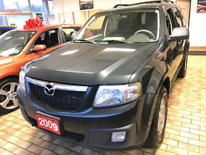 2009 Mazda Tribute GS 3.0L SUV LOW KM