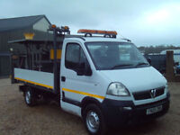 Vauxhall Movano 2.5 CDTI DROPSIDE HIGHWAYS ADVERTISING SIGN VAN