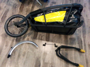 Used bicycle trailer for sale, fits any bike!