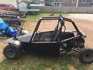 LOOKING TO TRADE A 600cc 2 Seat Dune Buggy for a $500 Snowblower