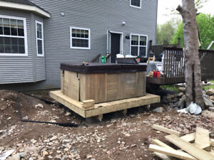 8 Person Hot Tub $800 wiring included.