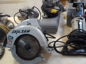 SKILSAW $30.00 and other TOOLS
