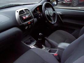 TOYOTA RAV4 1.8 VVTI NV 4X2 (2002 52 REG) RARE 3 DOOR