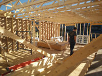 Framing, custom homes, home additions
