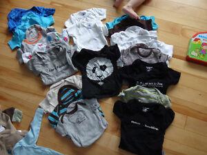 Bain, bumbo, vêtements bébé, pochette d'hiver 7AM, stérilisateur