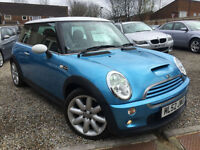 52-Reg MINI Hatch 1.6 Cooper S 3dr NICE EXAMPLE