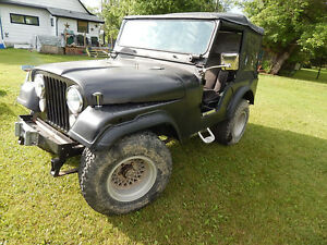 1971 JEEP CJ5 up for AUCTION JUNE 25