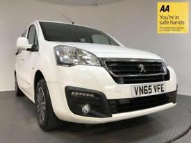 2015 65 PEUGEOT PARTNER 1.6 BLUE HDI TEPEE ACTIVE 5D AUTO 100 BHP DIESEL