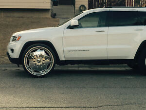 "26"" Dub Ghanja  rims & tires"