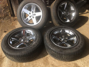 20 Dodge ram rims and tires