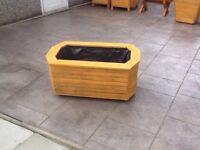 Upcycled handmade timber, garden planter .