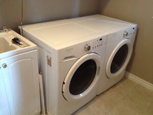 Frigidaire Affinity Front Load Washer & Dryer
