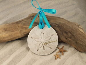 Myrtle Beach Sand Dollar Made With Tropical Ornament