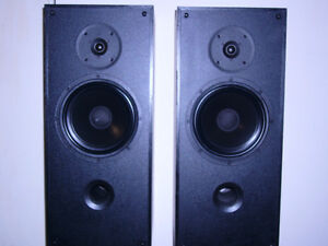 P.S.B 500 speakers with Atlantis stands