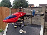 Kyosho concept 30 nitro helicopter