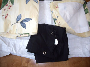 Brand new beautiful, shower curtain, liner and rings for sale  B