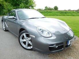 2007 Porsche Cayman 2.7 2dr Tiptronic S FPSH! Sports Seats! 2 door Coupe