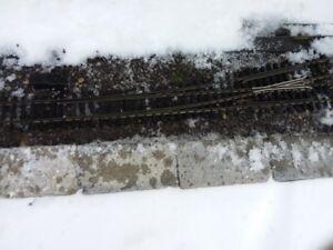 Aristocraft #6 switches for Garden Railway