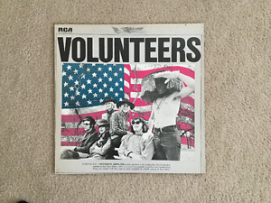 Jefferson Airplane Volunteers 33 1/3 RPM vinyl LP
