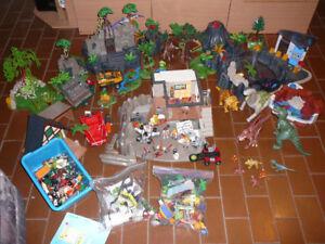 Lot de jouets Playmobil