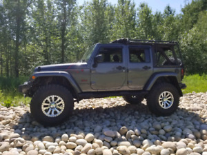 Jeep Wrangler Unlimited Backcountry Custom build