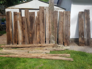 Very nice old barnboard and cedar rails