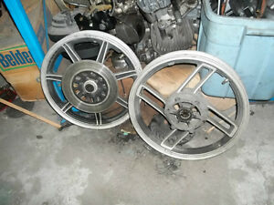 USED CAST RIMS from YAMAHA VISION and Heritage vintage
