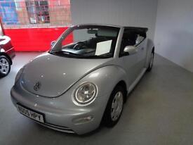 Volkswagen Beetle 1.9TDI 2005MY S CONVERTIBLE