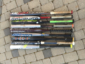 Various Slo-Pitch Bats