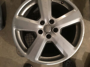 2 OEM 18 inch Audi rims with 5 x 112 bolt pattern