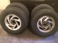 235/75/15 Avalanche x-treme winter tires
