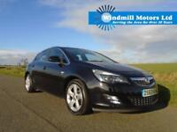 2010/60 VAUXHALL ASTRA 1.6 i VVT 16V SRI 5DR BLACK - SPACIOUS AND PRACTICAL