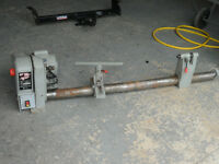 37' Wood Lathe with tools